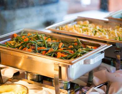 46923825-catering-meal-at-a-wedding-reception-of-green-beans-and-carrots